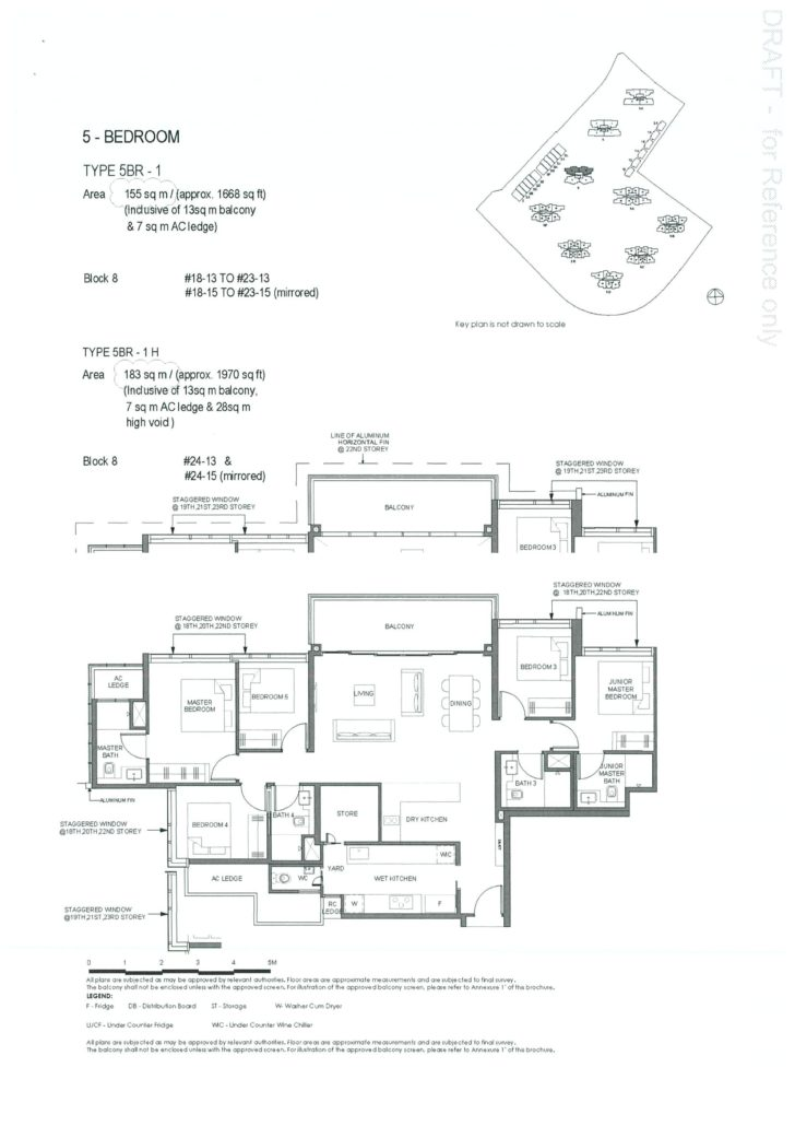 Parc Clematis 5 Bedroom Floor Plan